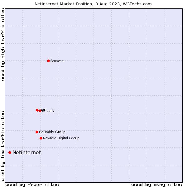 Market position of Netinternet