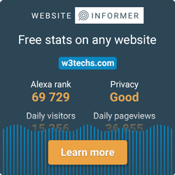 website informer w3techs